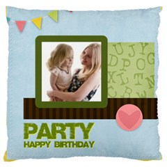Love, Kids, Memory, Happy, Fun  By Joely   Large Cushion Case (two Sides)   C0porzlkokmh   Www Artscow Com Front