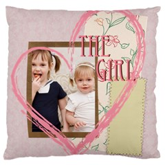 Love, Kids, Memory, Happy, Fun  By Joely   Large Cushion Case (two Sides)   Uanzljrkt9xb   Www Artscow Com Front