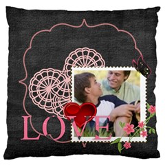 Love, Kids, Memory, Happy, Fun  By Joely   Large Cushion Case (two Sides)   Ps469tsabx54   Www Artscow Com Back