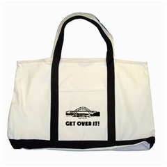 Get Over It Two Toned Tote Bag by PatDaly718