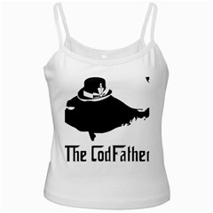 The Codfather White Spaghetti Top by PatDaly718