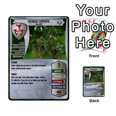 Heroscape Cards 1 By David Becker   Multi Purpose Cards (rectangle)   Czcrhsd9rjft   Www Artscow Com Front 9