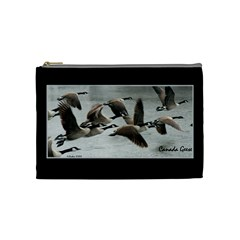 Geese Case By Kathy   Cosmetic Bag (medium)   9snafc5xfo1z   Www Artscow Com Front