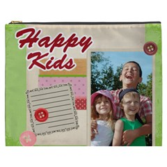 Kids Happy , Fun, Baby, Happy Holiday By Joely   Cosmetic Bag (xxxl)   Cmw9sdhg7ari   Www Artscow Com Front