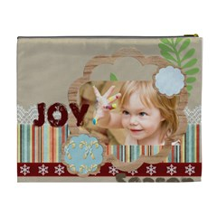 Flower , Kids, Happy, Fun, Green By Jacob   Cosmetic Bag (xl)   01tt72dghy9d   Www Artscow Com Back