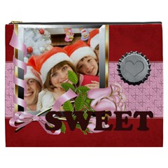 Love, Kids, Happy, Fun, Family, Holiday By Mac Book   Cosmetic Bag (xxxl)   Cpvmurw3kbqa   Www Artscow Com Front