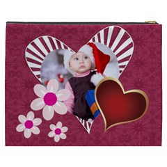 Love, Kids, Happy, Fun, Family, Holiday By Mac Book   Cosmetic Bag (xxxl)   0knapzoy0qko   Www Artscow Com Back