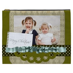 Flower Of Kids, Love, Happy By Joely   Cosmetic Bag (xxxl)   8o2mouh5rpns   Www Artscow Com Front
