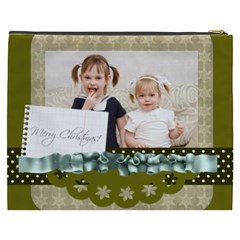 Flower Of Kids, Love, Happy By Joely   Cosmetic Bag (xxxl)   8o2mouh5rpns   Www Artscow Com Back
