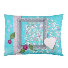 Colorful Valentine By Zornitza   Pillow Case (two Sides)   94if0dqfinna   Www Artscow Com Front
