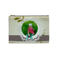 Kids, Fun, Child, Play, Happy By Jacob   Cosmetic Bag (medium)   Z01m8pg27bps   Www Artscow Com Front