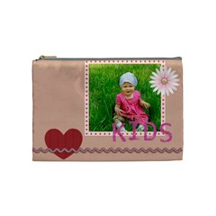 Kids, Fun, Child, Play, Happy By Jacob   Cosmetic Bag (medium)   9asur4z7op6g   Www Artscow Com Front