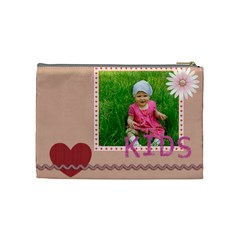 Kids, Fun, Child, Play, Happy By Jacob   Cosmetic Bag (medium)   9asur4z7op6g   Www Artscow Com Back