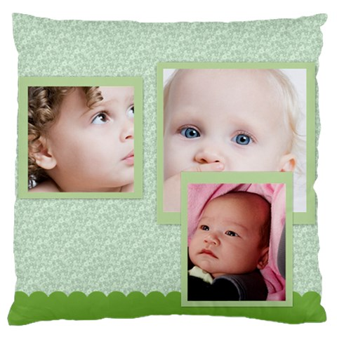 Love, Kids, Happy, Fun, Family, Holiday By Mac Book   Large Cushion Case (one Side)   Jjgtw7lbantd   Www Artscow Com Front