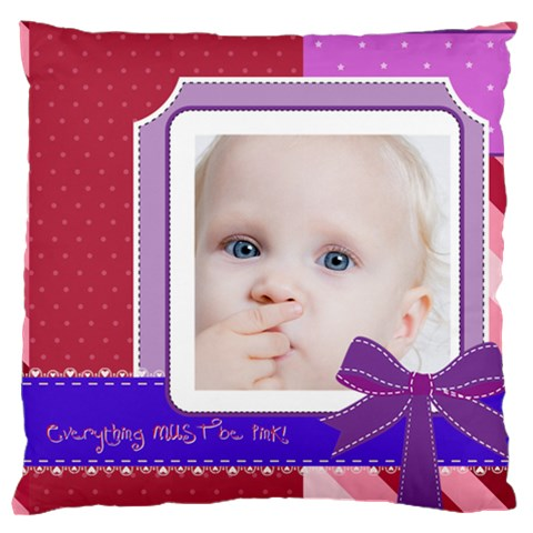 Love, Kids, Happy, Fun, Family, Holiday By Mac Book   Large Cushion Case (one Side)   Vn7jszvs6gxl   Www Artscow Com Front