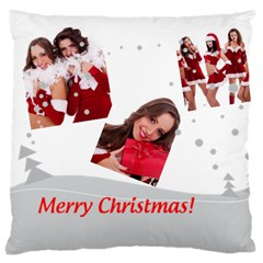 Merry Christmas, Happy New Year, Xmas By Angena Jolin   Large Cushion Case (two Sides)   Kg8qqh6cg83a   Www Artscow Com Front