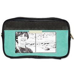 Toiletries Bag (two Sides) By Deca   Toiletries Bag (two Sides)   13tu9nyxn0o7   Www Artscow Com Front