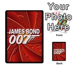 James Bond Ccg 2012: Villains And Women Part 2 By Geni Palladin   Multi Purpose Cards (rectangle)   Xr5p44zjv0m7   Www Artscow Com Back 38