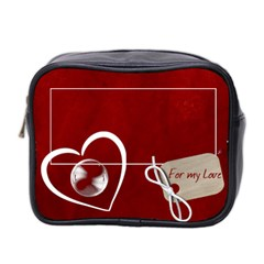 For My Love Mini Toiletries Bag (two Sides) By Elena Petrova   Mini Toiletries Bag (two Sides)   Hqpmx8smqfe7   Www Artscow Com Front