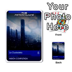 Resistance Mass By Pixatintes   Multi Purpose Cards (rectangle)   Fkvco5clfwlz   Www Artscow Com Back 1