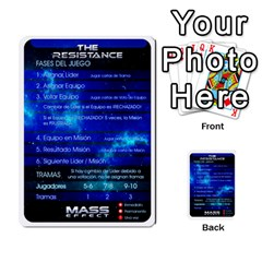 Resistance Mass By Pixatintes   Multi Purpose Cards (rectangle)   Fkvco5clfwlz   Www Artscow Com Back 7
