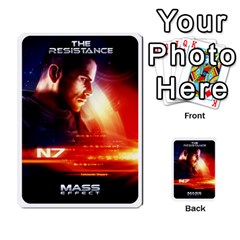 Resistance Mass By Pixatintes   Multi Purpose Cards (rectangle)   Fkvco5clfwlz   Www Artscow Com Back 9