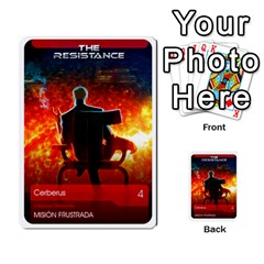 Resistance Mass By Pixatintes   Multi Purpose Cards (rectangle)   Fkvco5clfwlz   Www Artscow Com Front 2