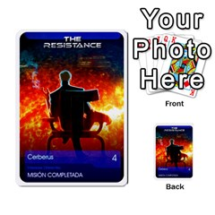 Resistance Mass By Pixatintes   Multi Purpose Cards (rectangle)   Fkvco5clfwlz   Www Artscow Com Back 2