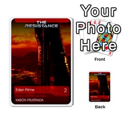 Resistance Mass By Pixatintes   Multi Purpose Cards (rectangle)   Fkvco5clfwlz   Www Artscow Com Front 4
