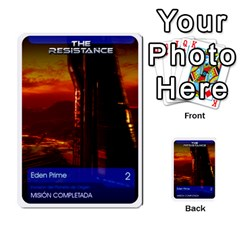 Resistance Mass By Pixatintes   Multi Purpose Cards (rectangle)   Fkvco5clfwlz   Www Artscow Com Back 4