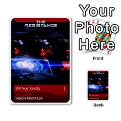 Resistance Mass By Pixatintes   Multi Purpose Cards (rectangle)   Fkvco5clfwlz   Www Artscow Com Front 5