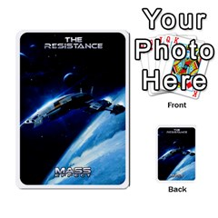 Resistance Mass By Pixatintes   Multi Purpose Cards (rectangle)   Fkvco5clfwlz   Www Artscow Com Back 45