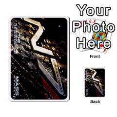 Resistance Mass By Pixatintes   Multi Purpose Cards (rectangle)   Fkvco5clfwlz   Www Artscow Com Back 50