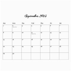 Cocktail Calendar 2013 2014 By Urvi Mehta   Wall Calendar 11  X 8 5  (18 Months)   Rvdwl7b8hsm8   Www Artscow Com Sep 2013