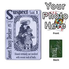 Witch Trial Deck 1 By Jim Chaney   Playing Cards 54 Designs   9u2sacftsgrg   Www Artscow Com Front - Spade3