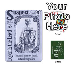 Witch Trial Deck 1 By Jim Chaney   Playing Cards 54 Designs   9u2sacftsgrg   Www Artscow Com Front - Heart9