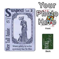 Witch Trial Deck 1 By Jim Chaney   Playing Cards 54 Designs   9u2sacftsgrg   Www Artscow Com Front - Diamond2