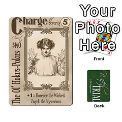 Witch Trial Deck 1 By Jim Chaney   Playing Cards 54 Designs   9u2sacftsgrg   Www Artscow Com Front - Club2