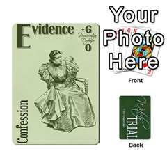 Witch Trial Deck 1 By Jim Chaney   Playing Cards 54 Designs   9u2sacftsgrg   Www Artscow Com Front - Club9