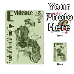 Witch Trial Deck 2 Weilong Re By Jim Chaney   Multi Purpose Cards (rectangle)   Bhb0cjw9a1dg   Www Artscow Com Front 4