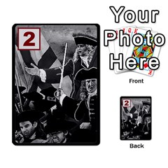Engarde By Pixatintes   Multi Purpose Cards (rectangle)   Ixw3grfoh4bq   Www Artscow Com Front 11