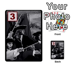 Engarde By Pixatintes   Multi Purpose Cards (rectangle)   Ixw3grfoh4bq   Www Artscow Com Front 16