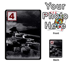 Engarde By Pixatintes   Multi Purpose Cards (rectangle)   Ixw3grfoh4bq   Www Artscow Com Front 22