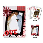 love, kids, memory, happy, fun  - Playing Cards Single Design