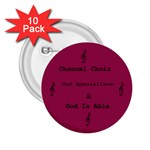 Chancel Choir Button - 2.25  Button (10 pack)