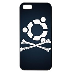 Ubuntu Bone Apple Iphone 5 Seamless Case (black) by CreateYourOwnGift