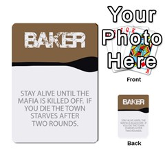 Mafia By Tim Weaver   Multi Purpose Cards (rectangle)   Lzwv2z3txa7c   Www Artscow Com Front 1