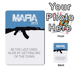 Mafia By Tim Weaver   Multi Purpose Cards (rectangle)   Lzwv2z3txa7c   Www Artscow Com Front 6