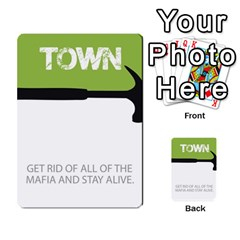 Mafia By Tim Weaver   Multi Purpose Cards (rectangle)   Lzwv2z3txa7c   Www Artscow Com Front 19