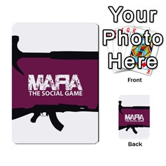Mafia By Tim Weaver   Multi Purpose Cards (rectangle)   Lzwv2z3txa7c   Www Artscow Com Back 30